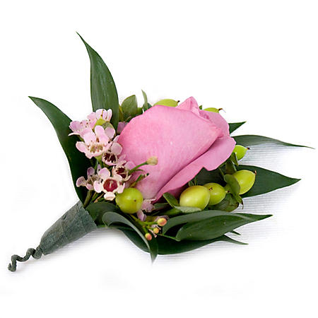 Wedding Collection Bright, Corsage and Boutonniere (Choose 12 or 24 pieces)