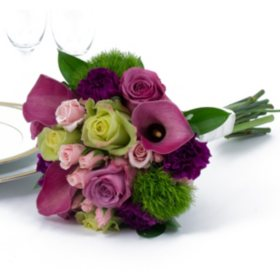 Wedding Collection Bright, Bridesmaid Bouquets (Choose 2 or 3 pieces)