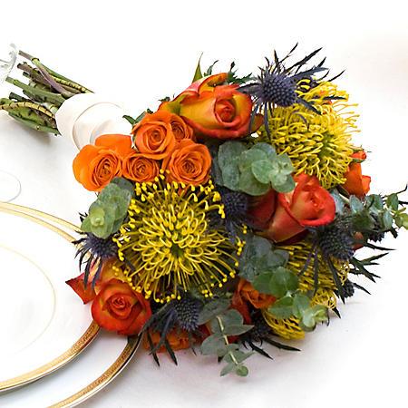 Wedding Collection Earth Tone, Bridesmaid Bouquets (Choose 2 or 3 pieces)