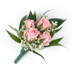 Wedding Collection - Pink - Corsages and Boutonnieres -12pc