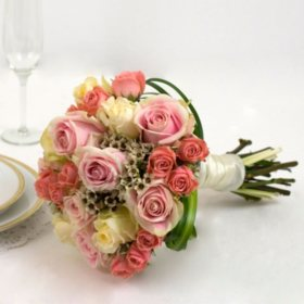 Wedding Collection Pink, Bridesmaid Bouquets (Choose 2 or 3 pieces)