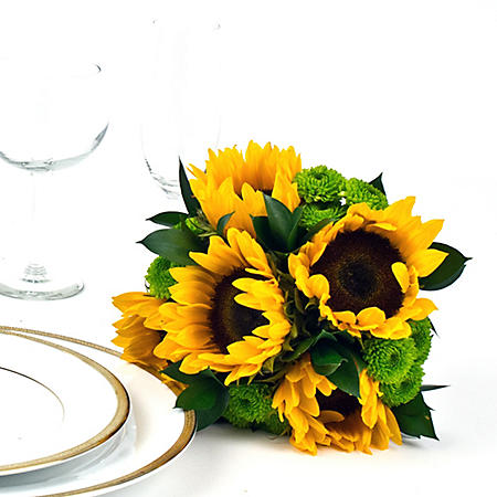 Wedding Collection Country Sunflower, Bridesmaid Bouquets (Choose 2 or 3 pieces)