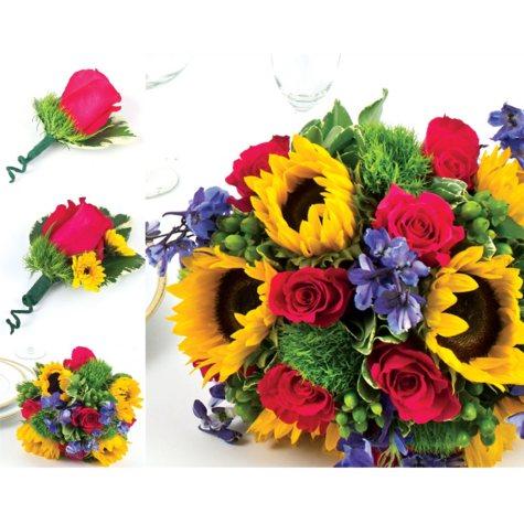 Sunflower Wedding Collection - Bright (10 pc.)