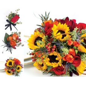 Wedding Collection Fall Sunflower