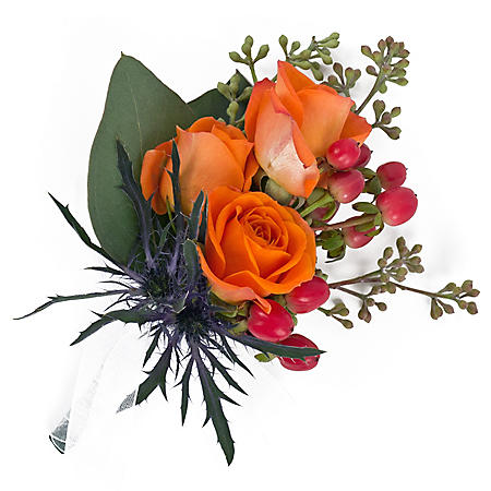 Wedding Collection Fall Sunflower, Corsage and Boutonniere (Choose 12 or 24 pieces)