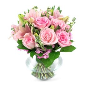 Wedding Collection Pink Passions, Centerpieces (6 pieces)