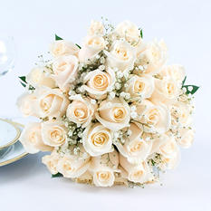 White Rose Wedding Collection (17 pc.)