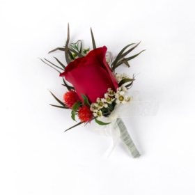 Wedding Collection Bohemian Chic, Corsage and Boutonniere (Choose 12 or 24 pieces)