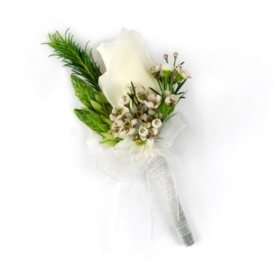 Wedding Collection Rustic Chic, Corsage and Boutonniere (Choose 12 or 24 pieces)