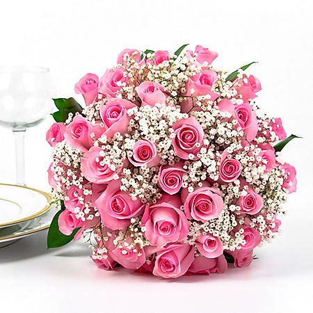 Wedding Collection Pink Rose, Elopement (Choose 4 or 6 Pieces)