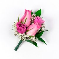 Wedding Collection Lavender Rose, Corsage and Boutonniere (Choose 12 or 24 pieces)