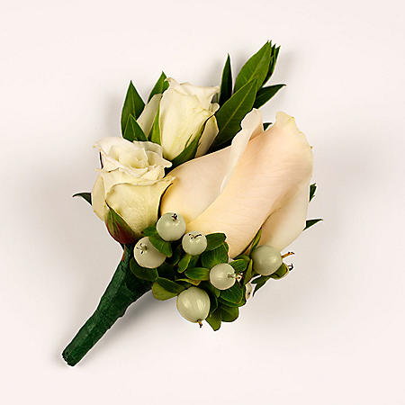 Wedding Collection Royal, Corsage and Boutonniere (Choose 12 or 24 pieces)