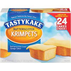 Tastykake Butterscotch Krimpets (24 ct.)