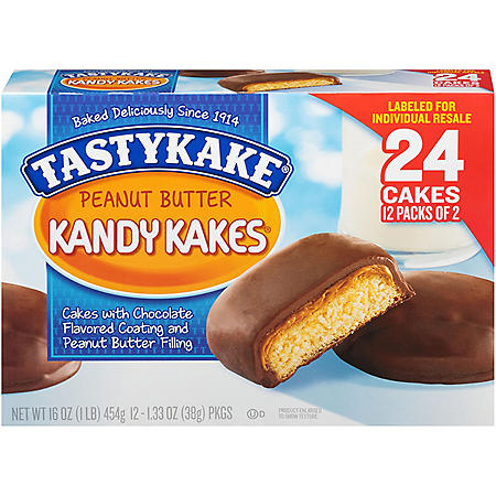 Tastykake Peanut Butter Kandy Kakes (24 ct.)