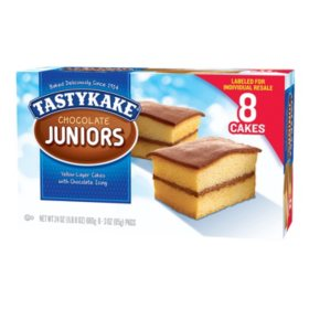 Tastykake Chocolate Juniors (3oz / 8pk)