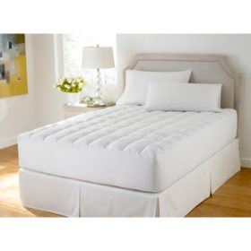 Healthy Home AAFA-Certified Down-Alternative Mattress Pad (Various Sizes)