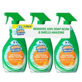 Scrubbing Bubbles Bathroom Grime Fighter Spray, Citrus (32 oz, 3 ct.)