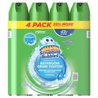 Scrubbing Bubbles Foaming Bathroom Cleaner, Rainshower (25 oz., 4 pk.)