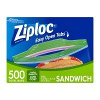 Ziploc Easy Open Tabs Sandwich Bags (500 ct.)