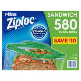 Ziploc Sandwich Bag (580 ct)