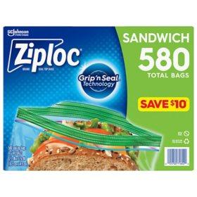 Ziploc Sandwich Bag (580 ct)