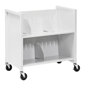 Low Profile Medical File Cart