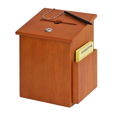 Wood Suggestion Box