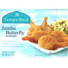 Tampa Maid® Jumbo Butterfly Shrimp - 1.75 lbs.
