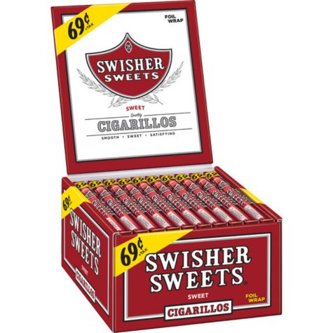 Swisher Sweets Cigars Box - 60 ct.