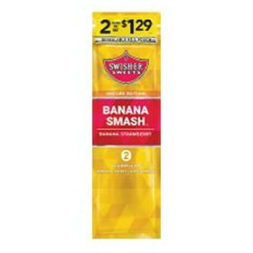 Swisher Sweets Banana Smash Cigarillos (2 pk., 30 ct.) Pre-priced 2/$1.29