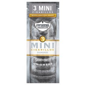 Swisher Sweets Cigarillo, Mini Diamond, Pre-Priced Buy 2 Get 3 Pk. (3 ct., 15 pk.)
