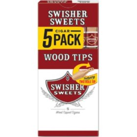 Swisher Sweets Wood Tip Cigars (5 pk.,10 ct.)