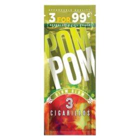 PomPom Slow Glow Cigarillos (3 ct., 15 pk.)