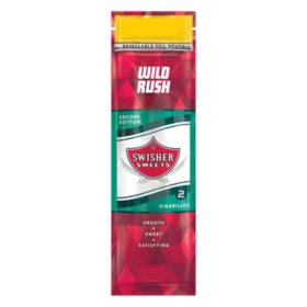 Swisher Sweets Cigarillos, Wild Rush (2 pk., 30 ct.)