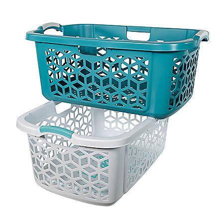 Home Logic 2.0 bu IML Laundry Baskets, 2 pk. (Lights & Darks)