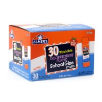 Elmer's Washable and Disappearing Glue Sticks, Purple, (30 ct.)