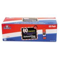 Elmer's - Disappearing Purple All Purpose Glue Sticks, Purple/Clear -  60/Box