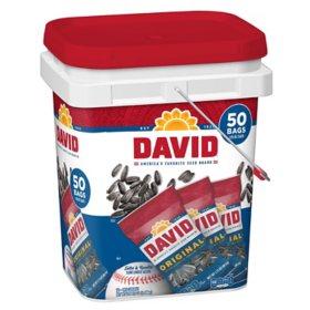David Sunflower Seeds Bucket (50 ct.)