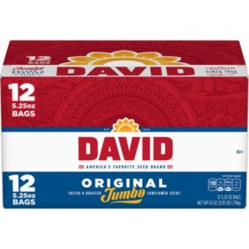 David Jumbo Sunflower Seeds (5.25 oz., 12 ct.)