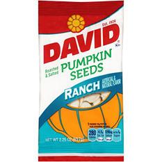David Roasted & Salted Ranch Pumpkin Seeds (2.25 oz., 12 pk.)