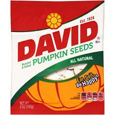 David Roasted & Salted Pumpkin Seeds (5 oz.)