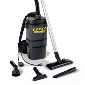 Shop-Vac Commercial Back Pack Vac - 2 Peak HP
