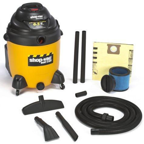 Shop-Vac Industrial Wet/Dry Vac - 6.5 Peak HP - 22 Gal