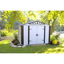 Designer Series Steel Storage Shed 10' x 8'