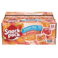 Snack Pack Sugar-Free Juicy Gel Cups (3.25 oz., 32 pk.)