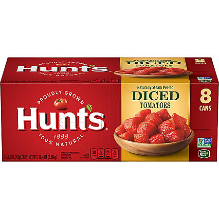 Hunt's Diced Tomatoes (14.5 oz., 8 pk.)