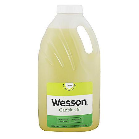 Wesson Pure Canola Oil (5 qts.)