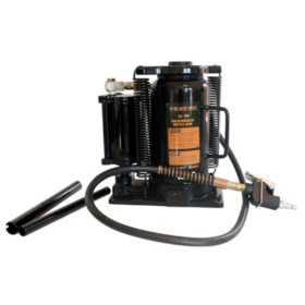Black Bull 20-Ton Manual Air / Hydraulic Bottle Jack