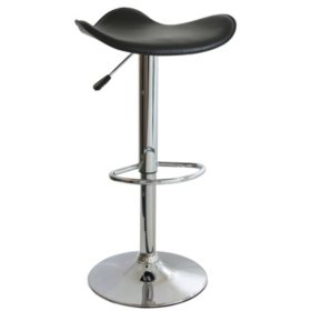 AmeriHome Classic Essential Adjustable-Height Bar Stool