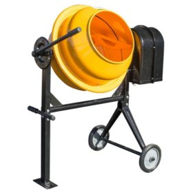 Pro-Series 3.5 Cubic Foot Electric Cement Mixer